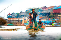 People of Tongle Sap Lake
